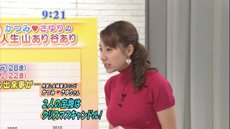 TBS、加藤シルビアアナの巨乳