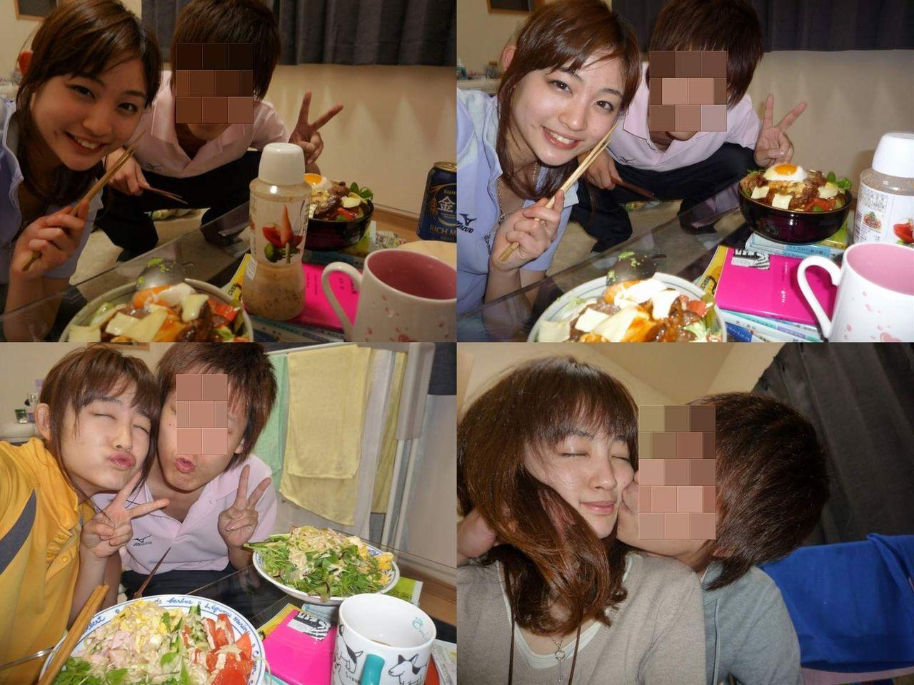 お天気キャスター・新井恵理那と彼とのキス画像、流出画像