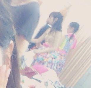 AKB48メンバーの撮った楽屋での自撮り画像に写りこんだ下着姿の渡辺麻友