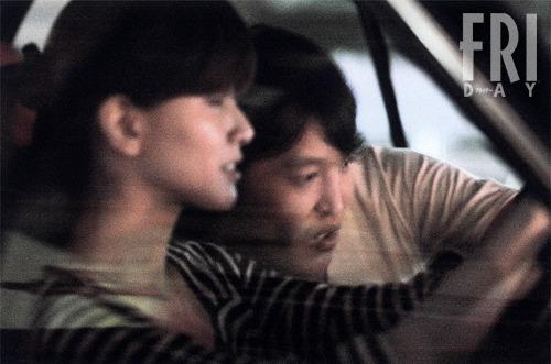 フライデーが撮った内田有紀と千原ジュニアのデート画像