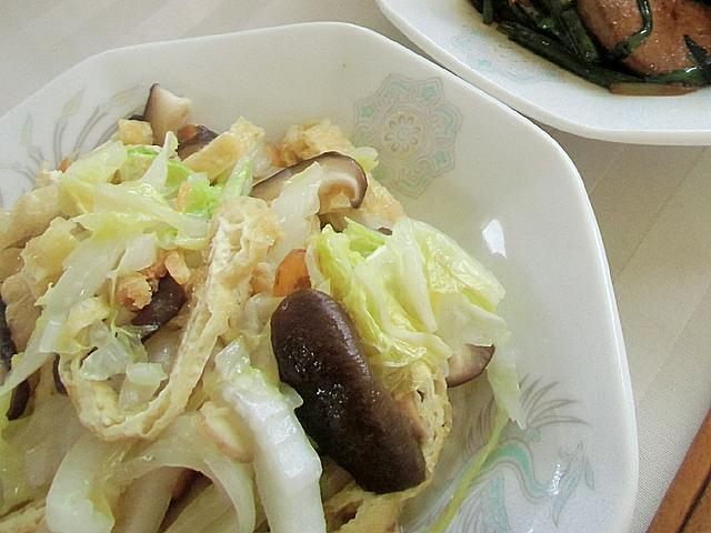 白菜の干しエビ味