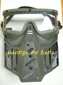 なぜだぁ~~?何故マスクなんだぁぁ