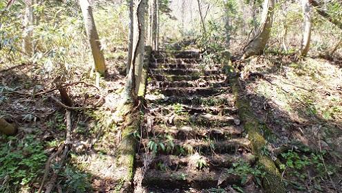玉川鉱山 (3)階段