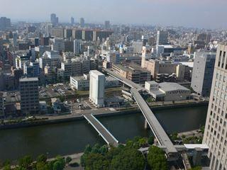 20階から京橋方面