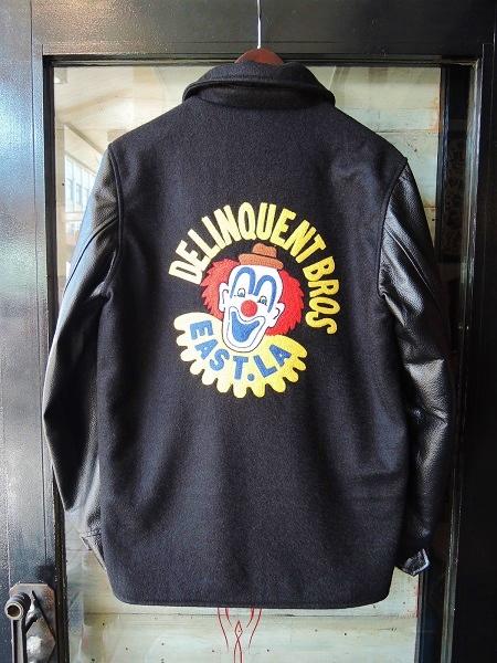 Delinquent Bros CROWN 2TONE CAR COAT (9)