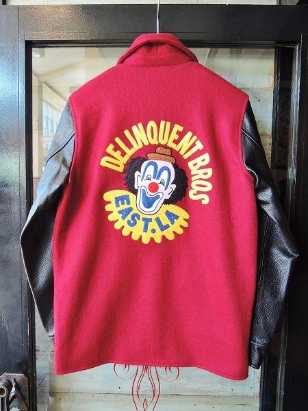 Delinquent Bros CROWN 2TONE CAR COAT (1)