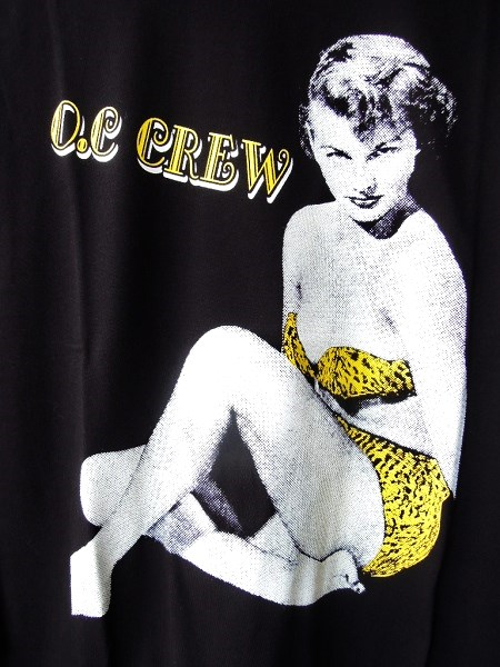 O.C CREW PIN UP L/S Tee