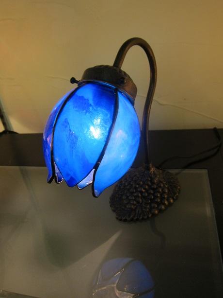ブルーのランプ