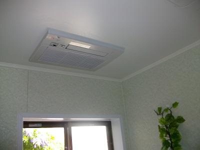 浴乾取替後 天井1