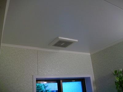 浴乾取替前 天井1