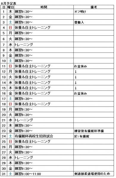 201308予定