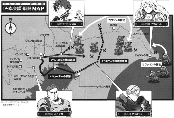 遠征軍MAP