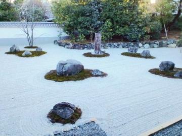 報恩寺の庭