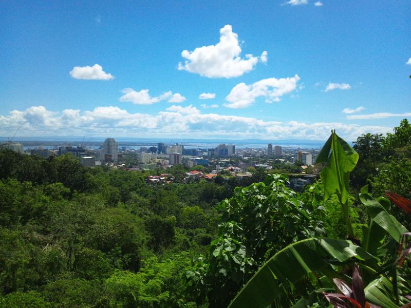 マルコポーロ・プラザ・セブからの眺め