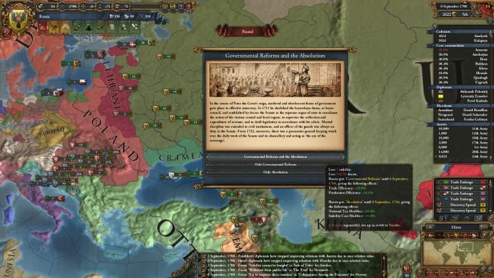 1700年、18世紀に突入