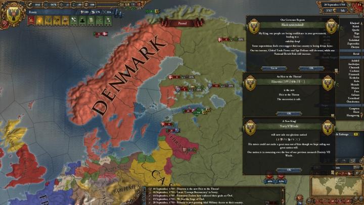 オスマン帝国率いる包囲網との戦いと新ツァーリYuriy V Wredeの即位(1759年9月)
