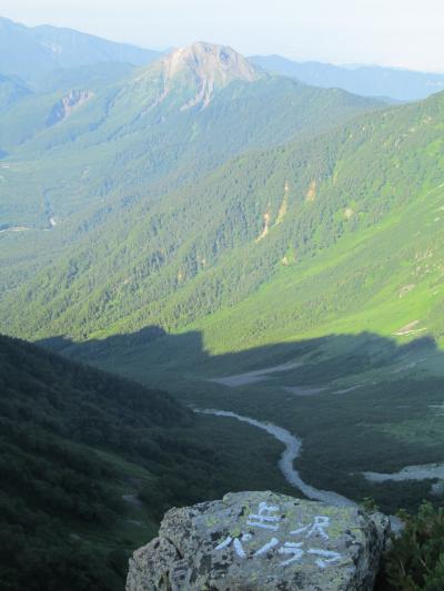 岳沢パノラマから焼岳