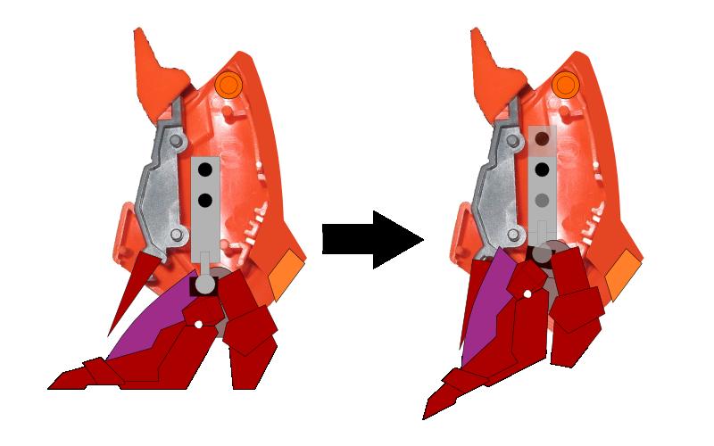 脚部可動機構2
