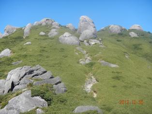 宮之浦岳への登り