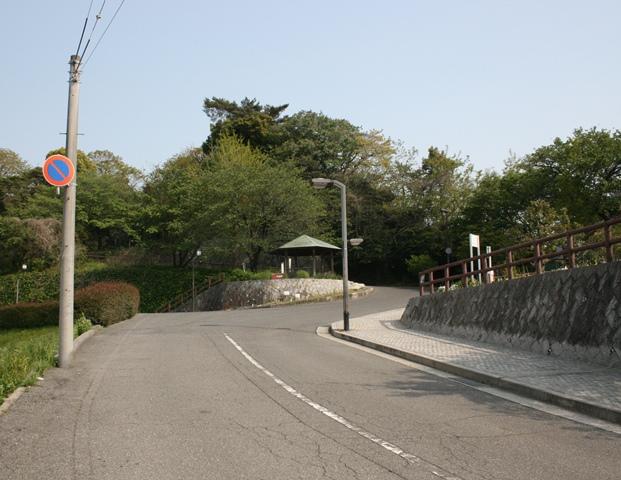 IMG_5732 江波山頂への坂道 W