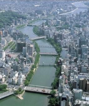 京橋川 鳥瞰