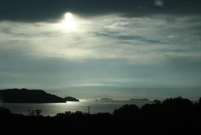 IMG_6822 夕日の瀬戸内海 W