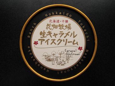 生キャラメルアイスクリームチョコレート