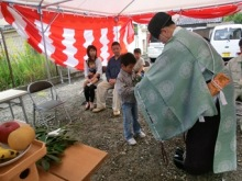 $コアー建築工房 和田のブログ-地鎮祭