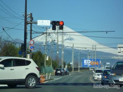 ところどころに富士山