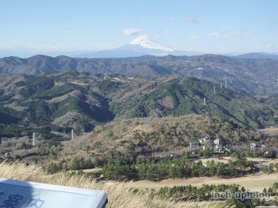 富士山一望