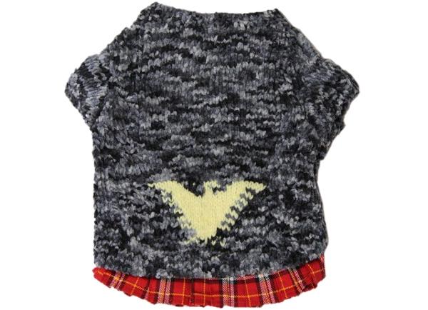 手編みワンちゃん洋服お洒落な犬服カーディガンニット1