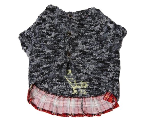 手編みワンちゃん洋服お洒落な犬服カーディガンニット2