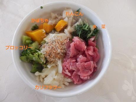 野菜ずくしのごはん1・25