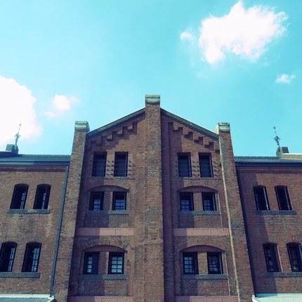 レンガ倉庫~♪
