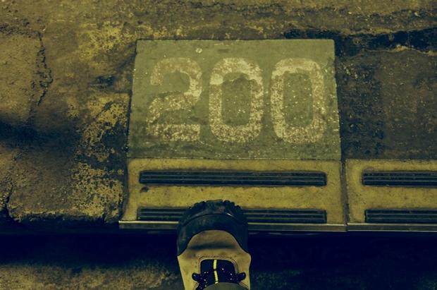 200階段目!