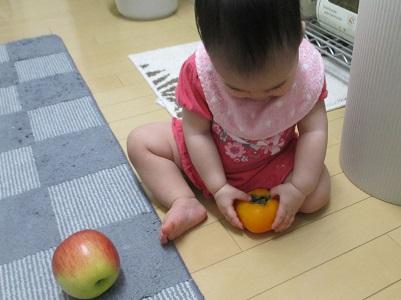 柿の勝ち。