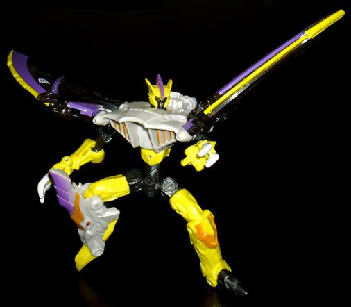 デストロン 空中諜報兵 テラシェーバー ロボットモード
