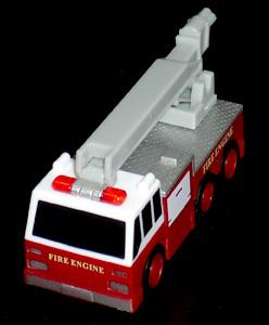 高圧放水砲付き消防救護車