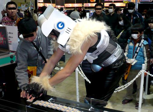 次世代ワールドホビーフェア'13 Winter バンダイ 爆烈連鎖バンバーンブース