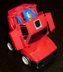 サイバトロン スロットルボット部隊 探察員 チェイス ロボットモード