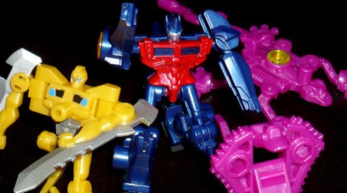 超ロボット生命体 トランスフォーマープライム アームズマイクロンガム
