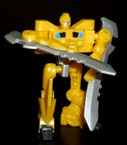 アームズマイクロン オートボット バンブルビーソード ロボットモード