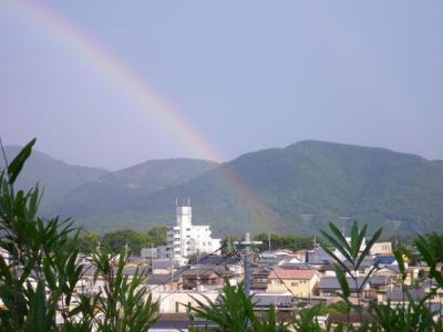虹のたもとは~!?