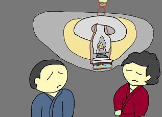 ランプの明かり