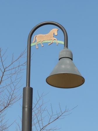 野間馬ハイランド 街灯