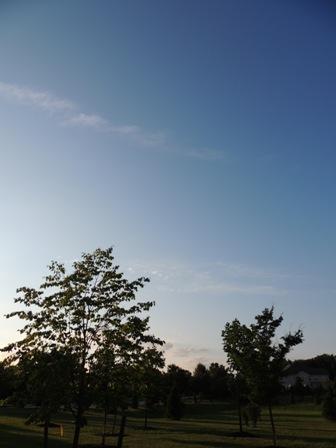 この日の空