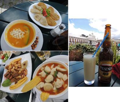エクアドル料理ランチ