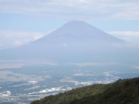 箱根スカイラインからみた富士山