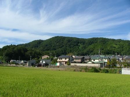青葉台団地から城山を臨む(2)2013_0928