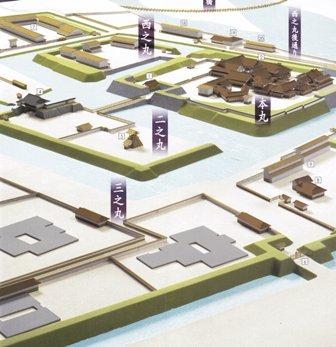 富山城復元図
